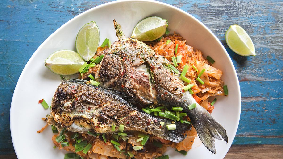 Thiéboudienne czyli ryba z ryżem i warzywami