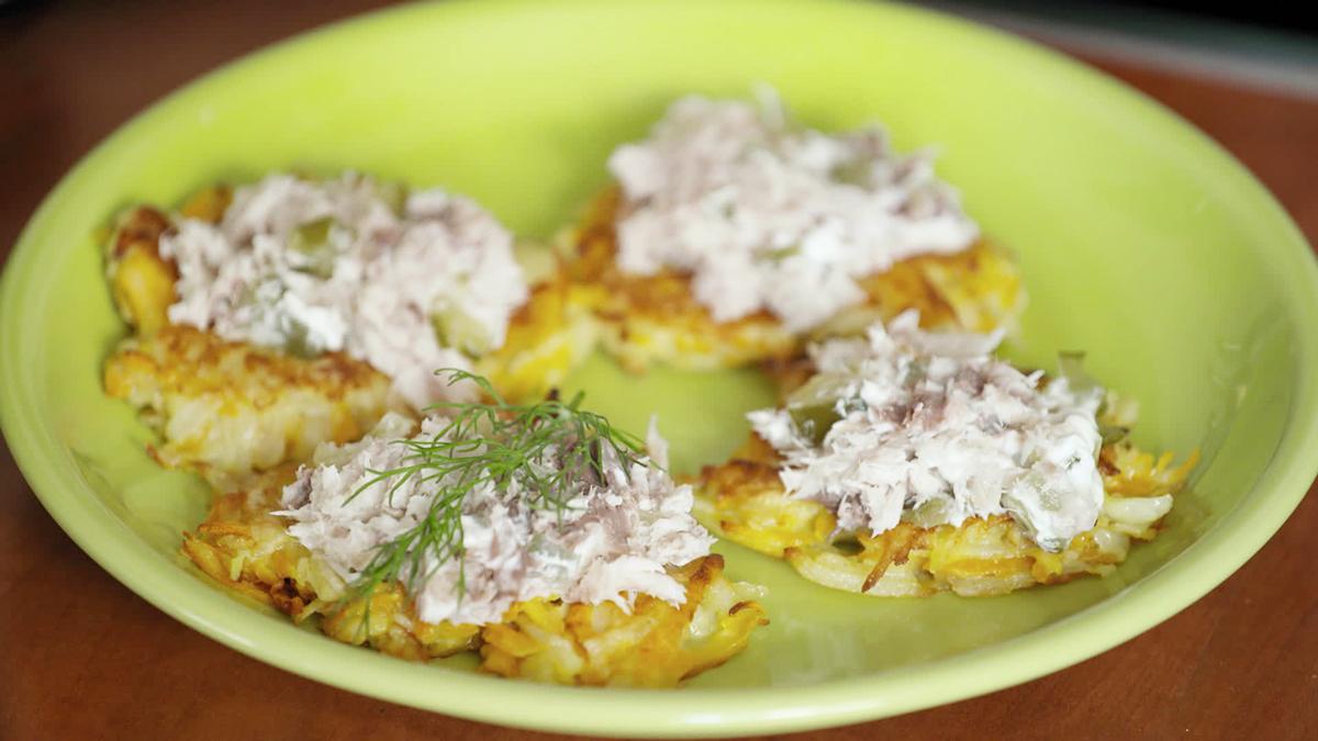 Placki Ziemniaczane Z Pasta Z Makreli Kuchnia