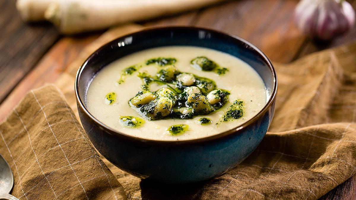 Zupa-krem z fasoli