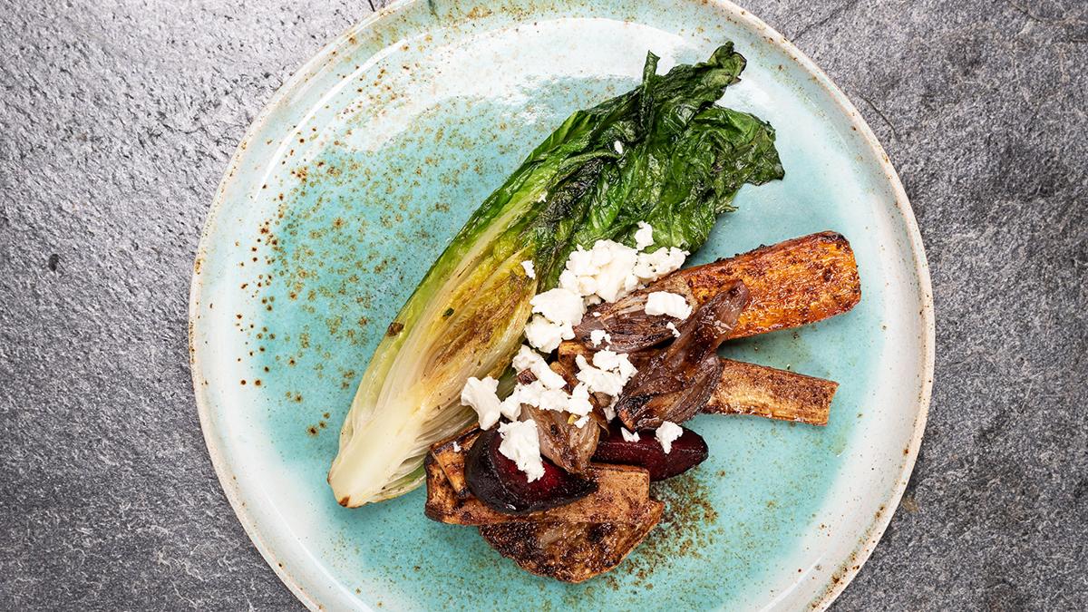 Pieczone warzywa korzenne z mieszanką przypraw