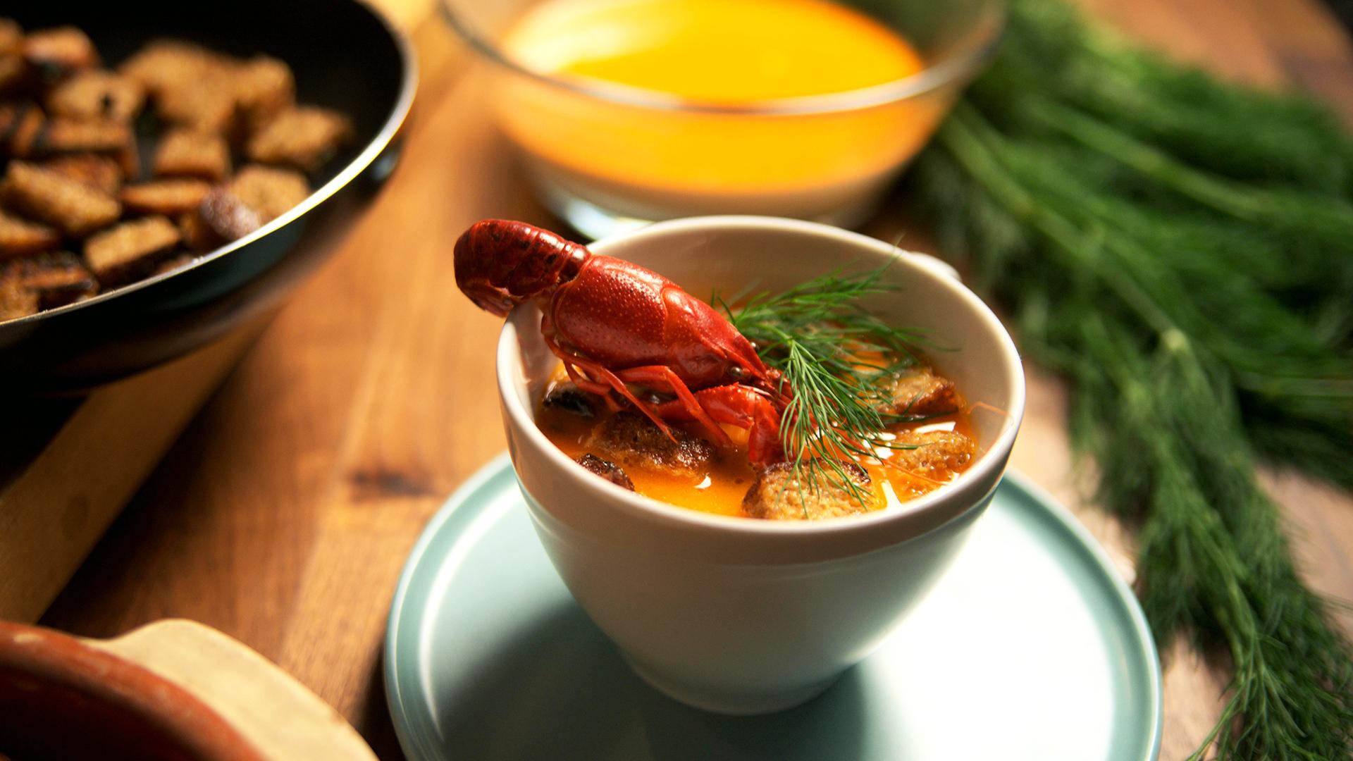 Zupa rakowa