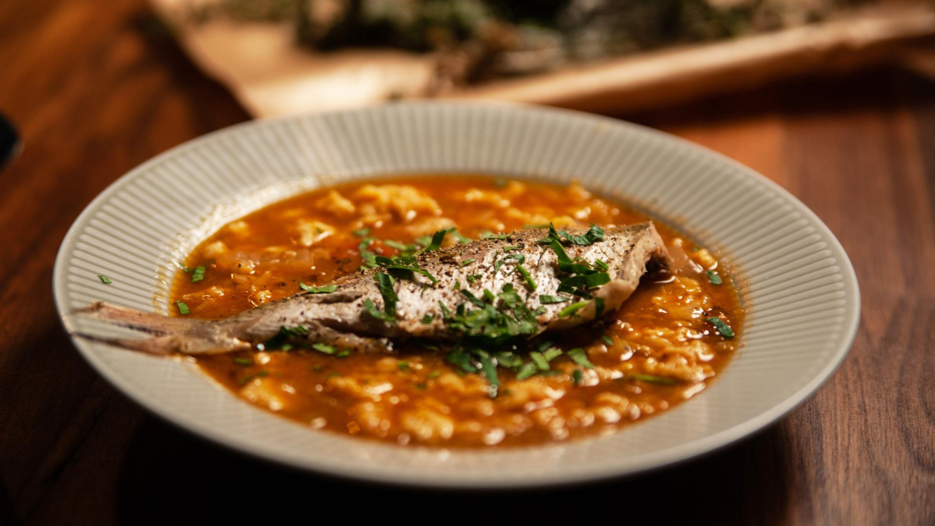Zupa rybacka na płotkach
