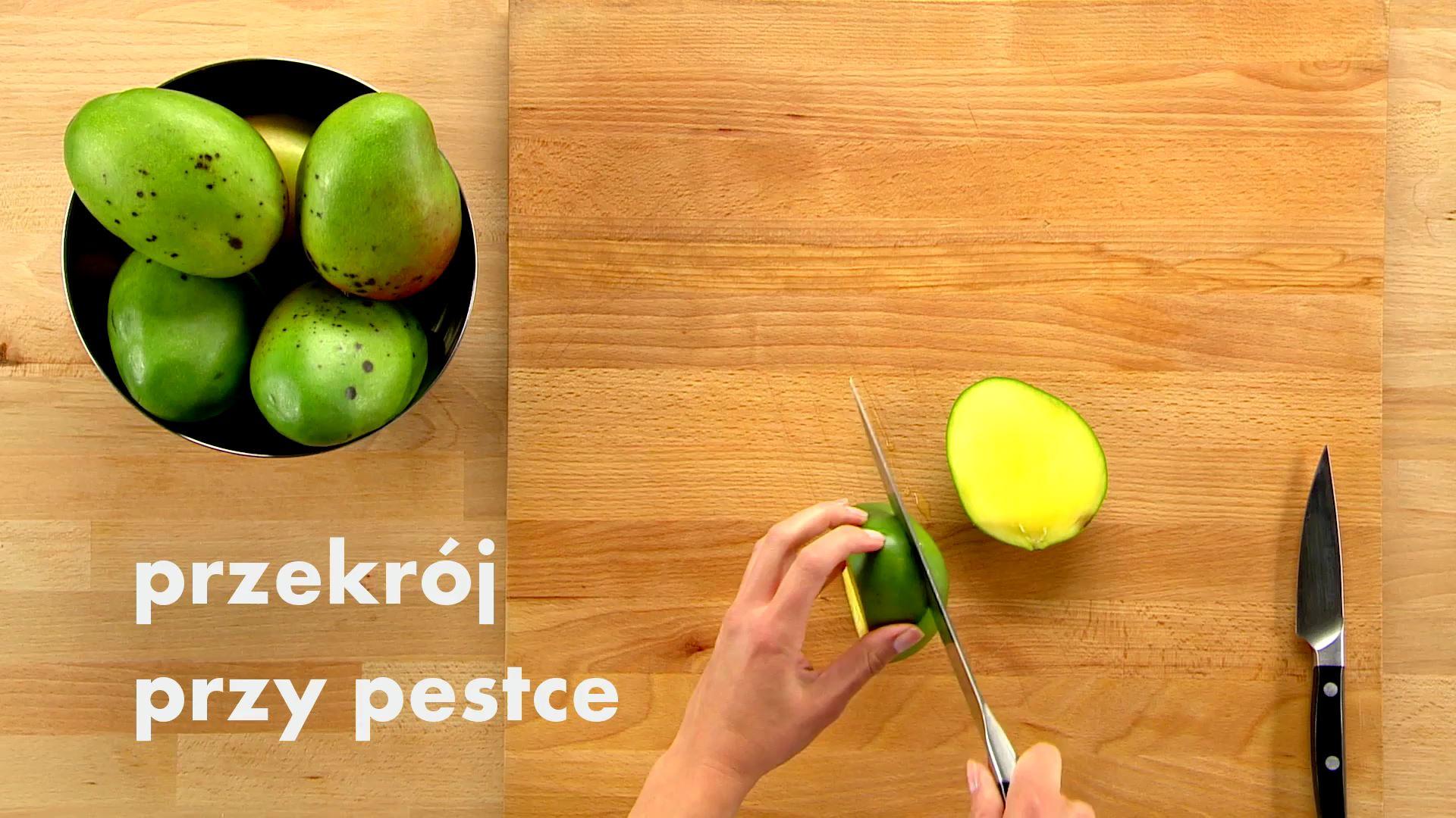 Jak pokroić mango w kostkę