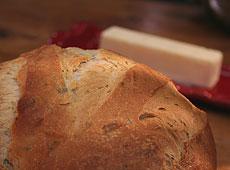 Ziołowy chlebek z oliwą