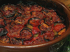 Tian z warzyw prowansalskich