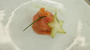 Sakiewka z łososia wędzonego - danie w 15 minut