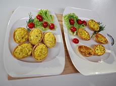 Wiosenne inspiracje - Złoto Indii w waflowym jaju