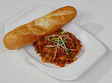 Wiosenne inspiracje - Soczewica w pomidorach