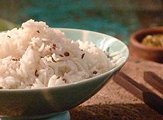 Ryż z mlekiem kokosowym