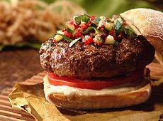 Hamburgery z jagnięciną i przyprawą pięć smaków