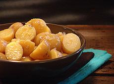 Imbirowe ziemniaki
