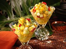 Sałatka z owoców tropikalnych