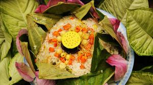 Ryż w liściach lotosu
