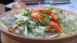 Zupa rybna z wężogłowa z tamaryndą