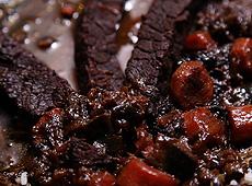 Afrykański gulasz wołowy