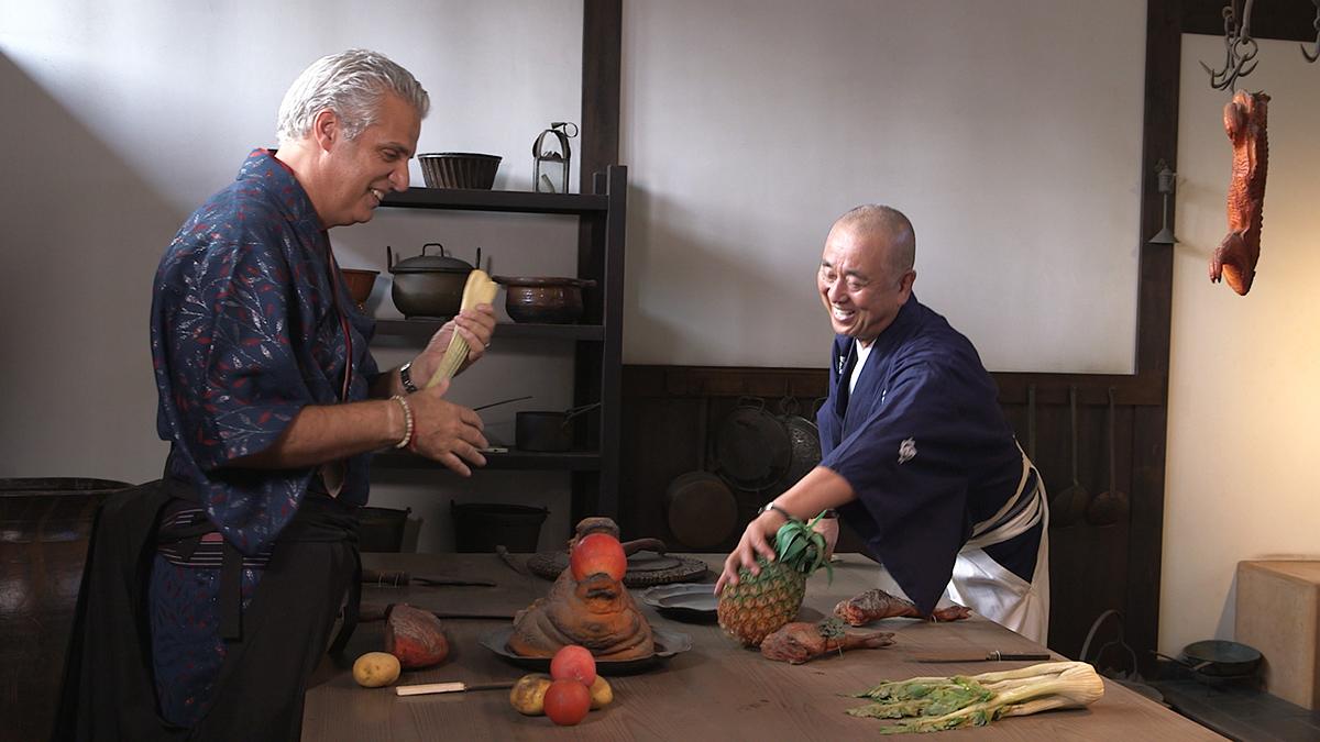 Nobu i jego Japonia