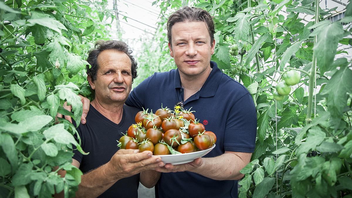 Jamie Oliver: gotuj zdrowo dla całej rodziny