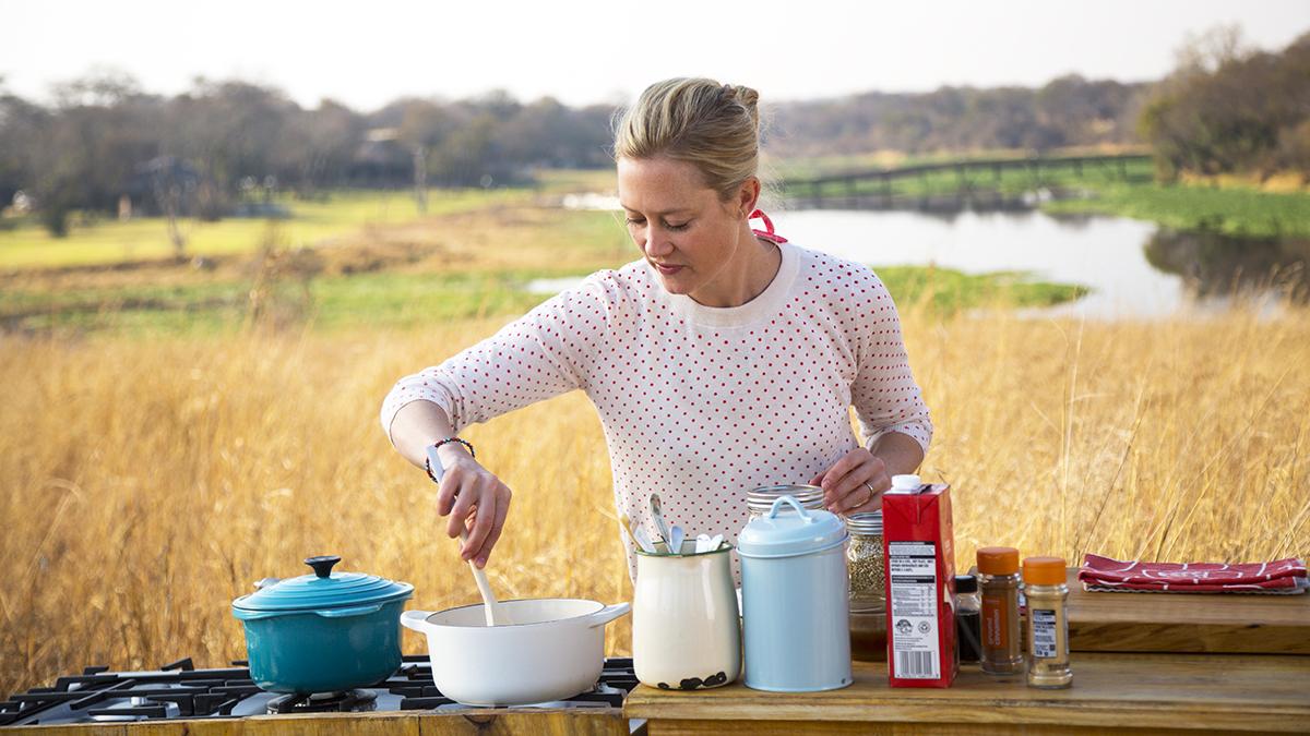 Kulinarne safari Sary Graham - zwiastun serii