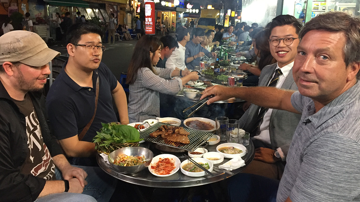 Kulinarne odkrycia Johna Torode - Korea